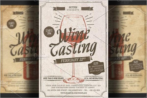 Best Wine Flyer Design
