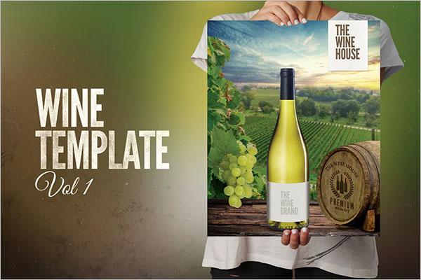 Best Wine Poster Design