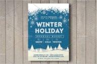 Best Winter Flyer Templates