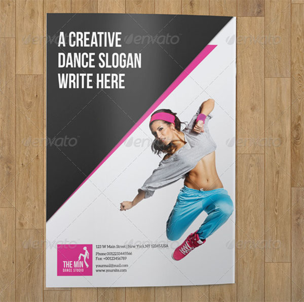 Bifold Brochure Dance Studio