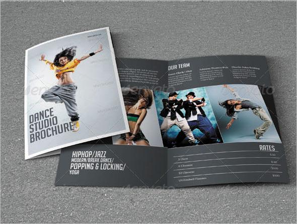 Bifold Brochure Dance Studio