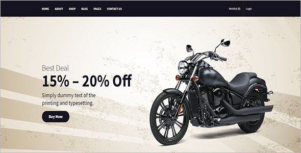Bike Parts Store WooCommerce Theme