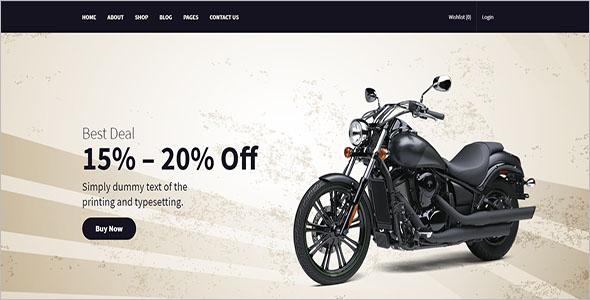 Bike Parts Store WooCommerce Theme
