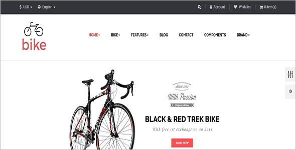 Bike Prestashop Theme