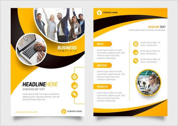 Black Business Flyer Template