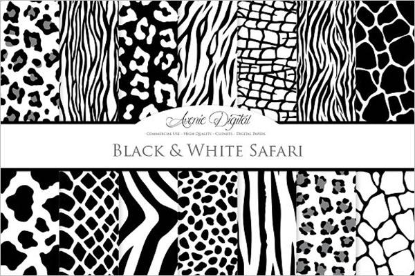 Black & White Animal Prints