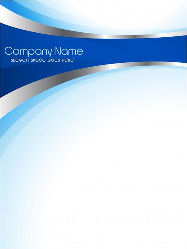Blank Company Flyer Template