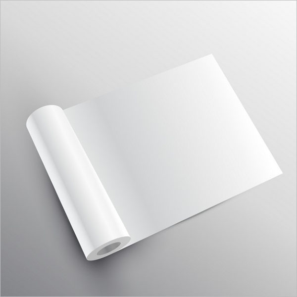 Blank Tissue Paper Mockup