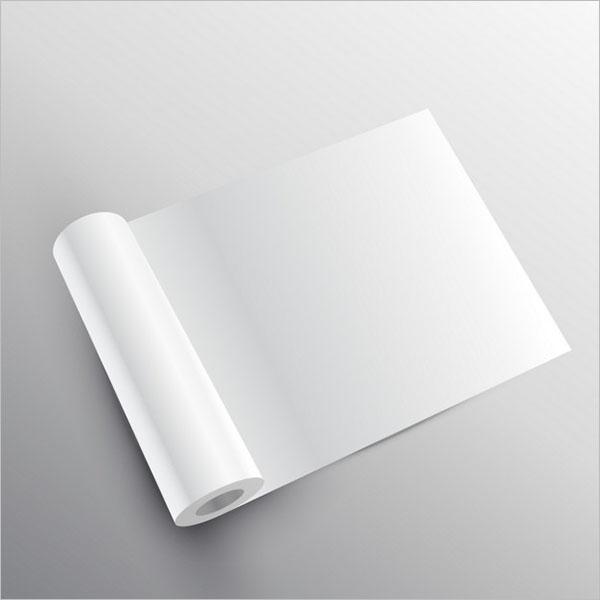 Blank Tissue Paper Mockup