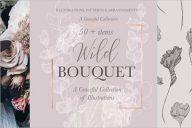 Bouquet Wedding Invitation Background
