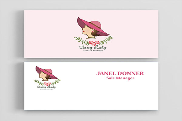 Boutique Business Card Free Download
