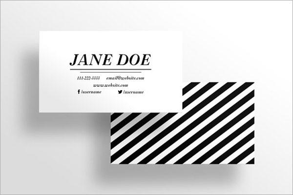 Boutique Visiting Card Design