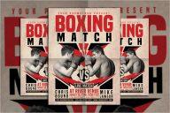 Boxing Match Template