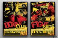 Boxing Poster Generator