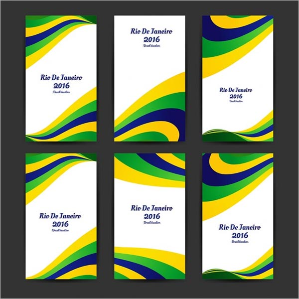 Brazil Olympic Flyer Template