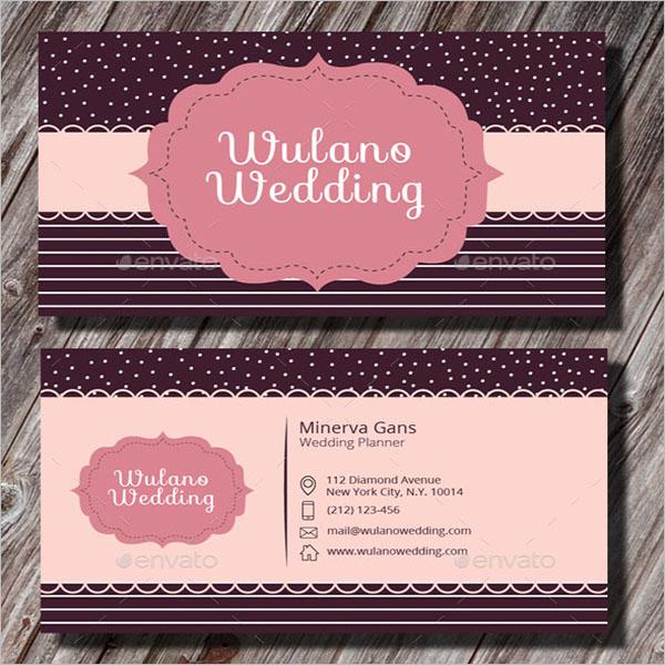 Bridal Wedding Business Card