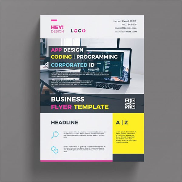 Business Printable Theme Flyer Free Download