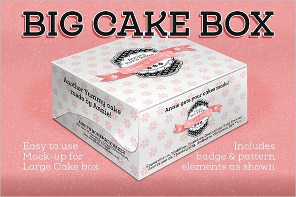 Cake Box Large Size