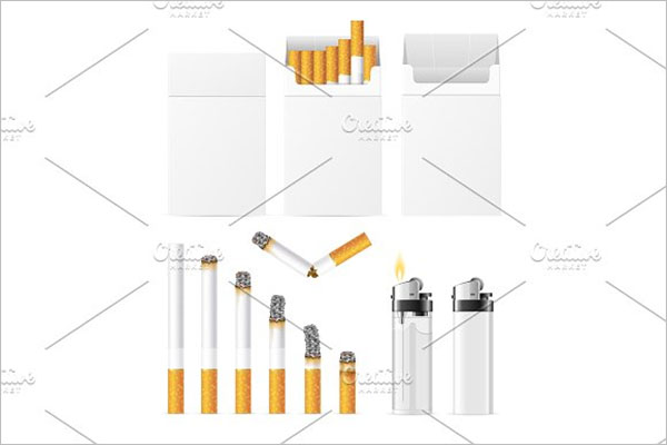 Cigarette And Accessory Set