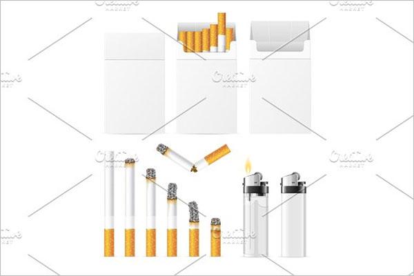 Cigarette And Accessory Set