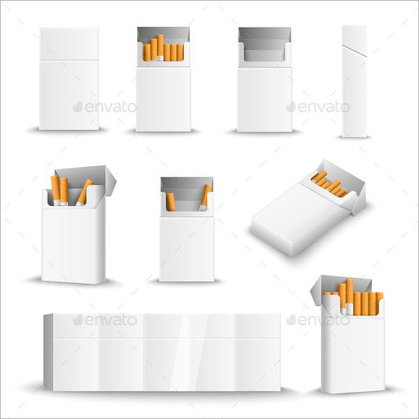 Cigarette Blank Packs