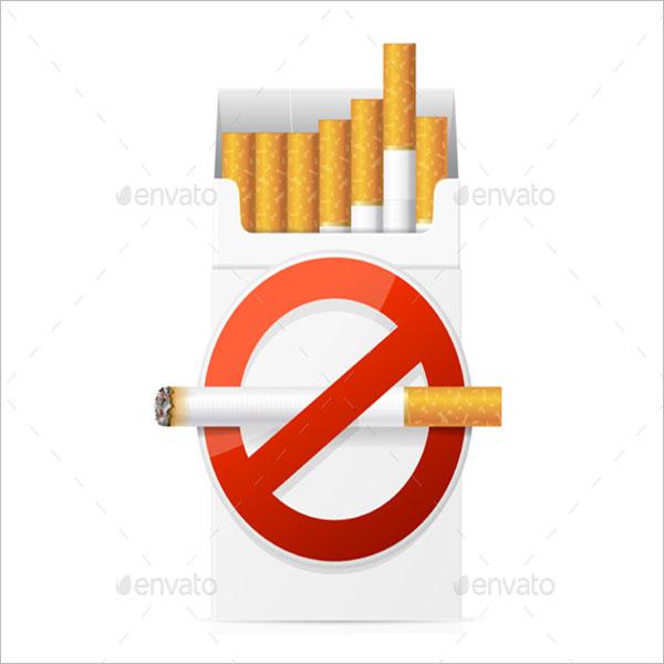 Cigarette Branding Mockup