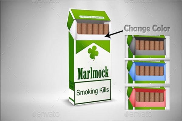 Cigarette Packing Mockup