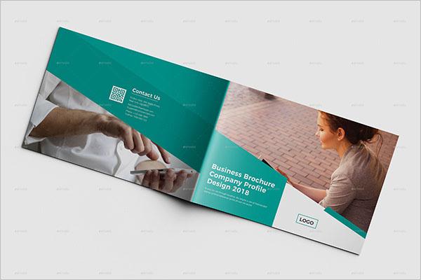 Clean Landscape Brochure Design