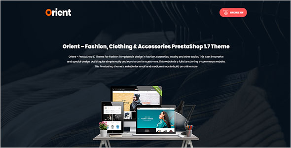 Clothing PrestaShop 1.7 Theme