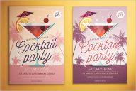 Cocktail Party Flyer Design