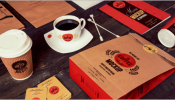 Coffee Branding Mockup Designs