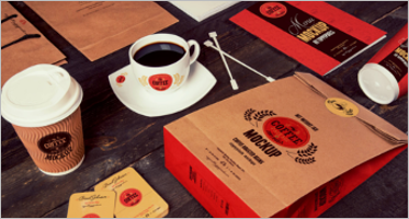Coffee Branding Mockup Designs