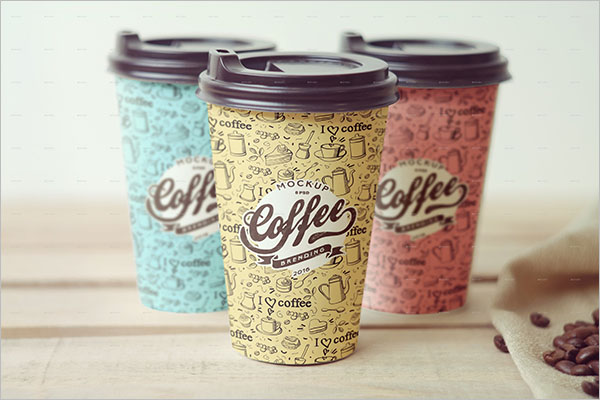 Coffee Cup Branding Mockup Design
