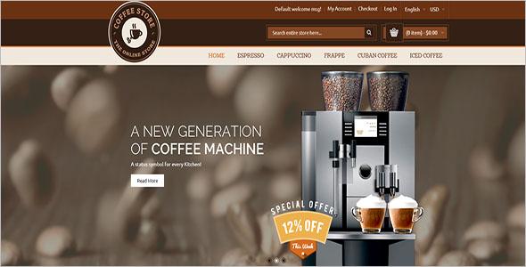 Coffee Magento Responsive Theme