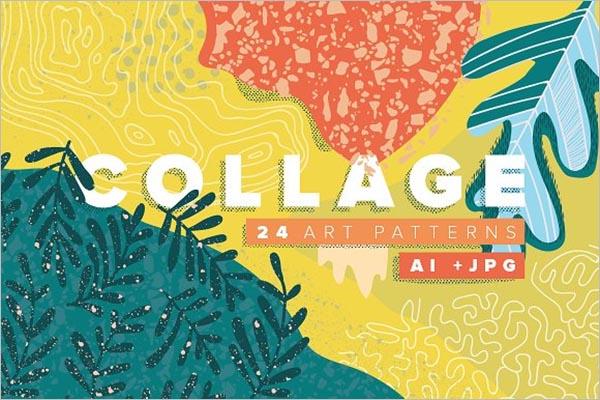 Collage Art Texture