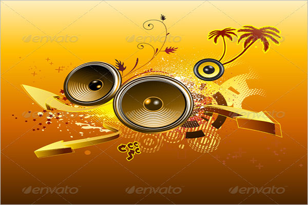 Cool Music Background