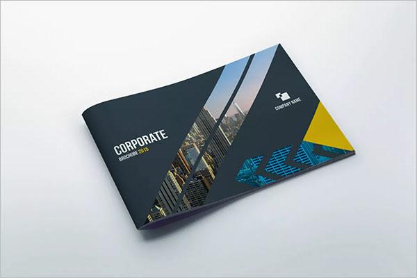 Corporate Landscape Brochure Design