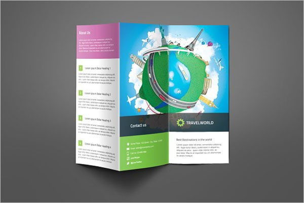 Corporate Travel Brochure Design