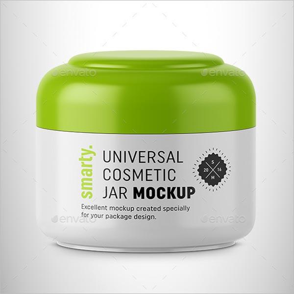 Cosmetic Jar Pack Mock-up