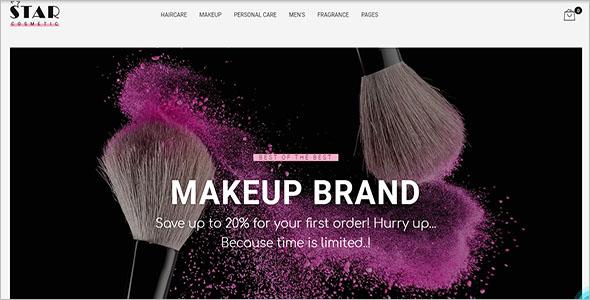 Cosmetic PrestaShop Theme