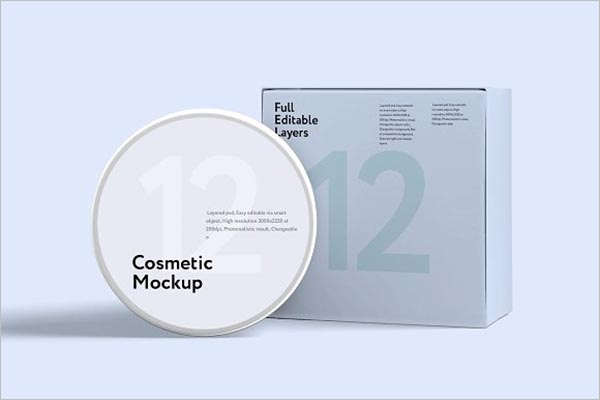 Cosmetics Mock-up Jar Bundle