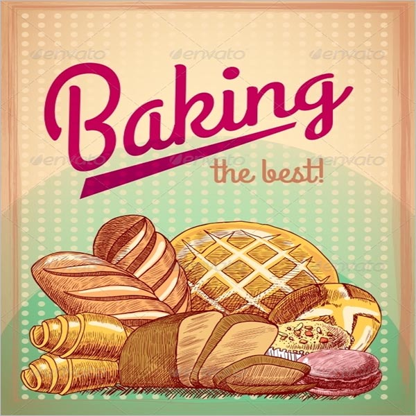 Creative Bakery Poster Template