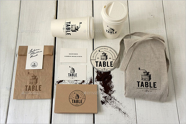 Creative Coffee Branding Mockup
