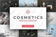 CreativeCosmetic Jar Mock-up Design