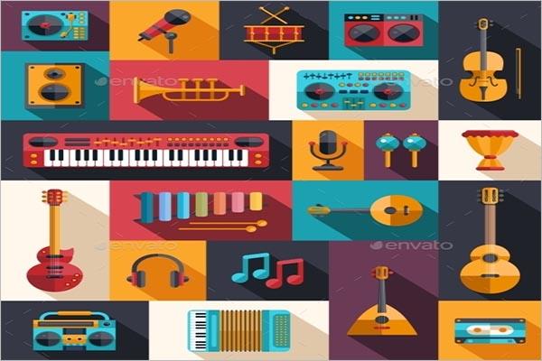 Creative Musical Icon Design