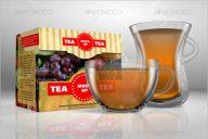 Creative Tea Box Mockup