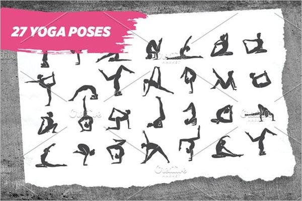 Creative Yoga Poses Design