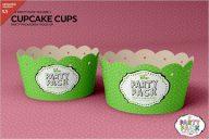 Cupcake Cups Packing Mockup