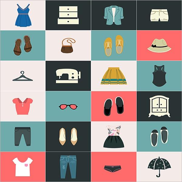 Custom Fashion icon Design