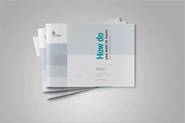 Custom Landscape Brochure Design